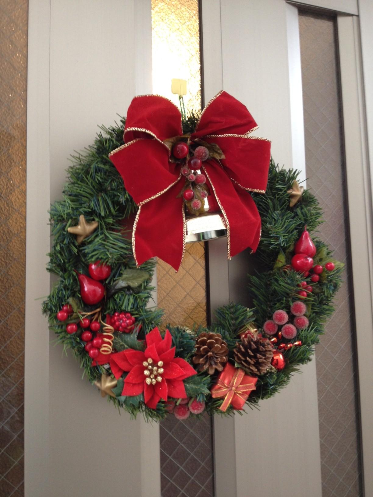 アロハシャツ屋のクリスマスリース2012
