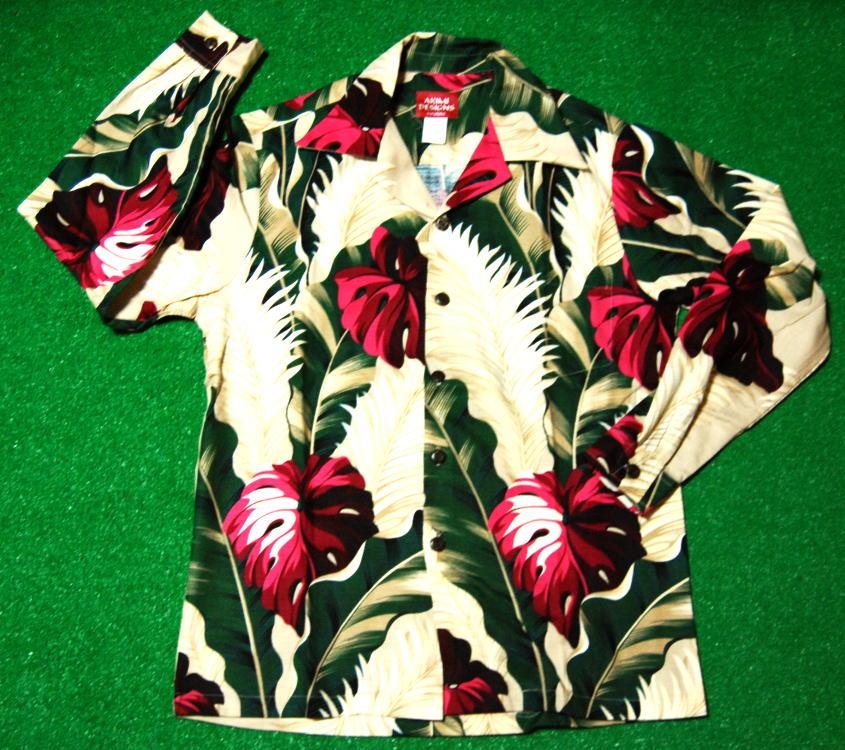 アロハシャツ ALONG015