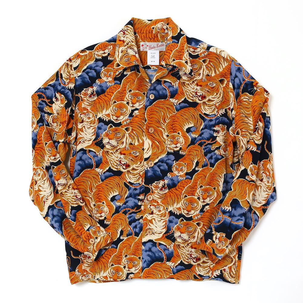 アロハシャツ HK19011BL