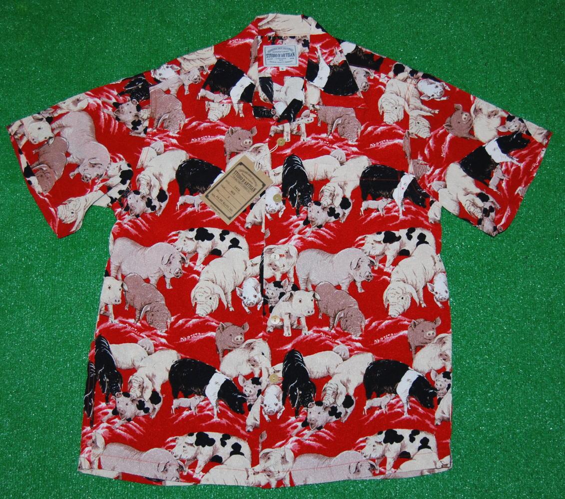 アロハシャツ SD5456RD