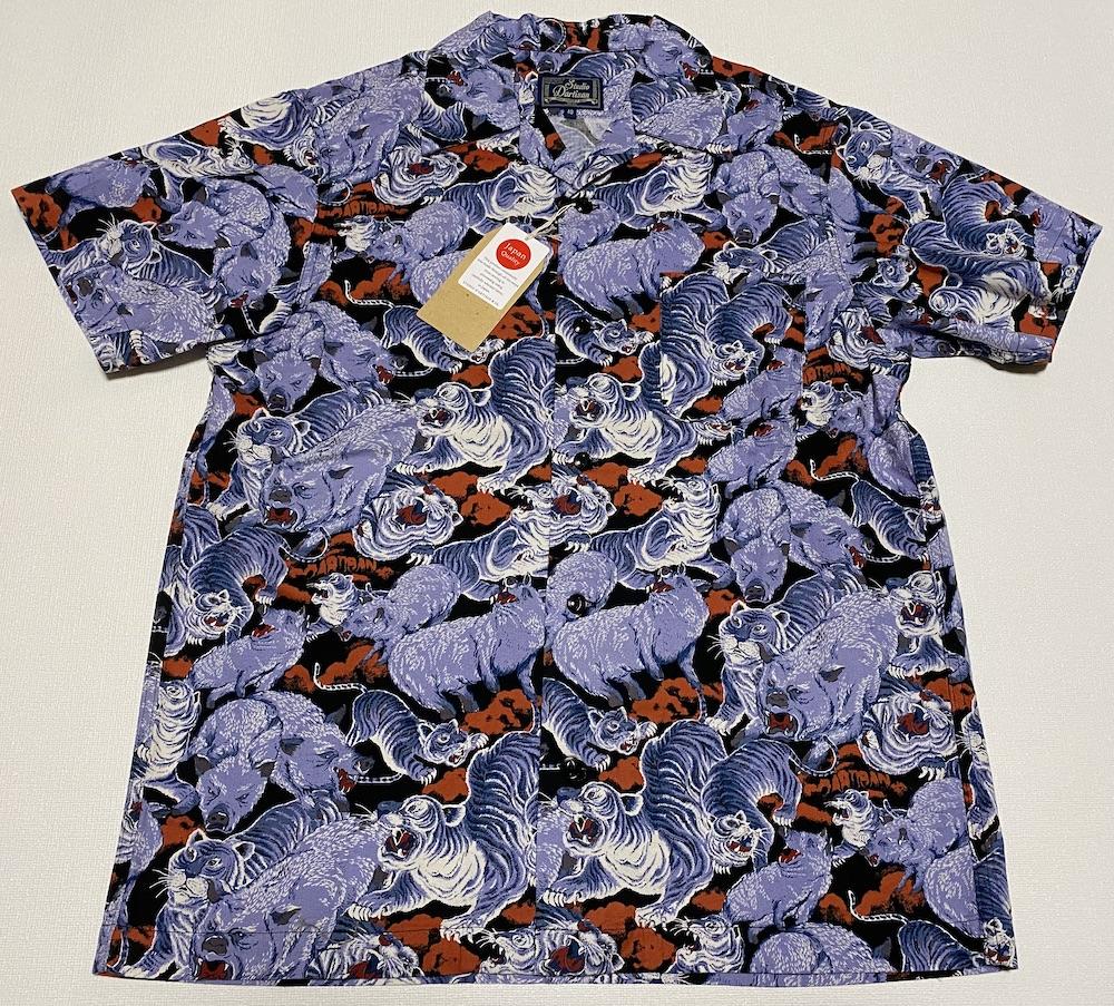 アロハシャツ SD5654BK