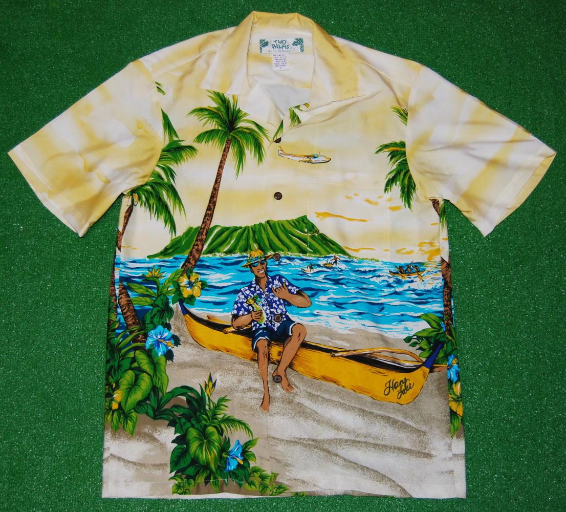 アロハシャツ TWO012