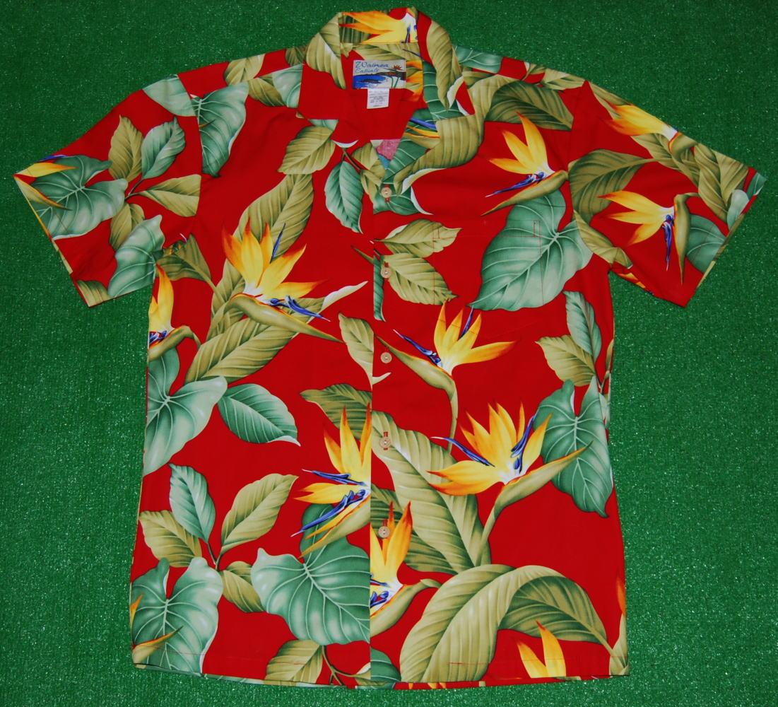 アロハシャツ WC018