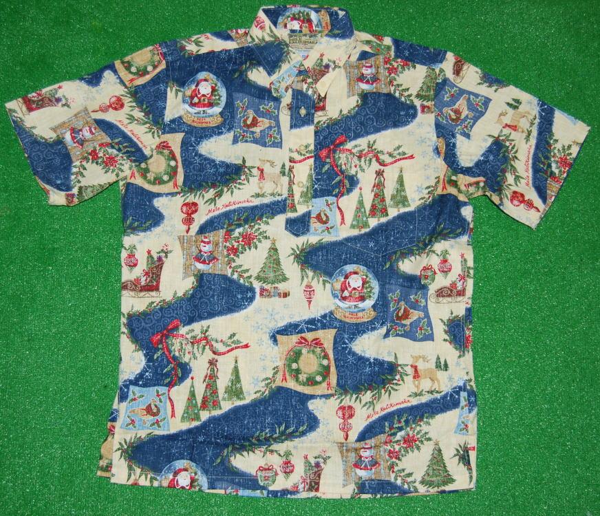 クリスマス用アロハシャツ2010